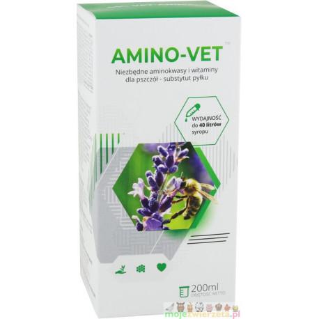 AMINO-VET 200 ml – dokarmianie pszczół, substytut pyłku pszczelego
